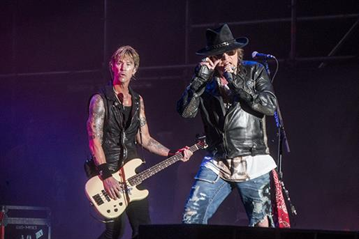 Duff From Guns and Roses